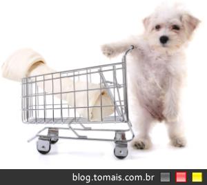 Cães não vão às compras