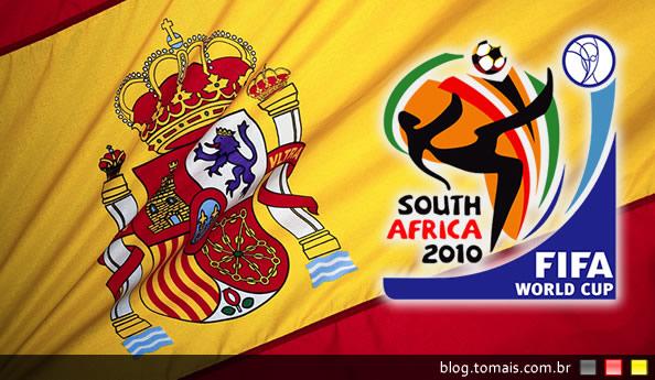 Espanha supera Brasil em apostas sobre quem vencerá a Copa de 2010