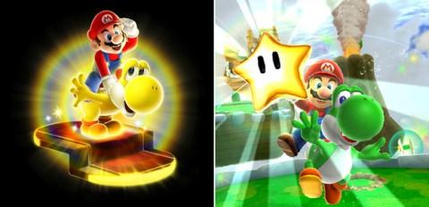 Super Mario Galaxy 2 - Novos itens